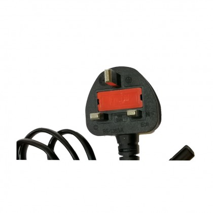 2 Pin Power Cable With Fuse For Notebook / Printer - 1.5M
