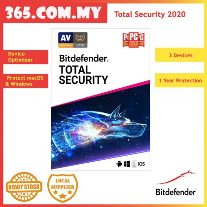 Bitdefender Total Security Multi-Device 3D1Y ( Electronic Key)