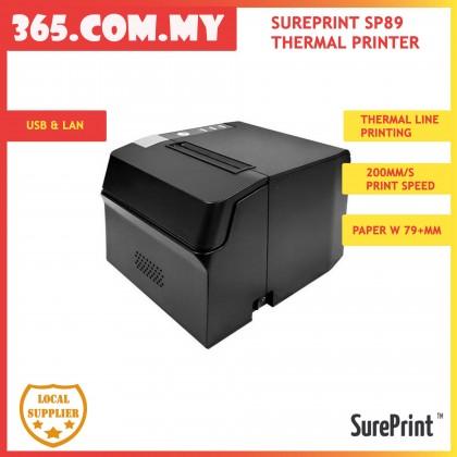 SurePrint SP89 Thermal Printer (USB & LAN) New Model