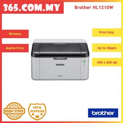 Brother HL-1210W Wireless Monochrome Laser Printer